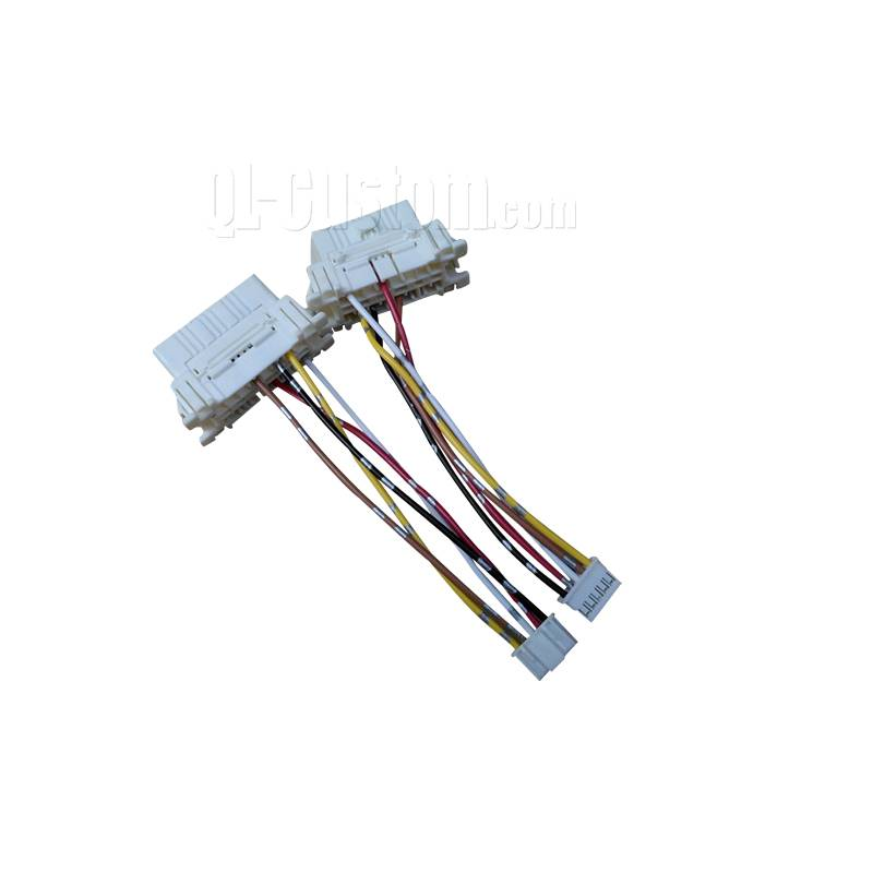 OBDII white female connector crimping terminals to Tyco substitution